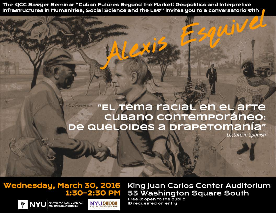 image from Wednesday, March 30 at 1:30 p.m. : Cuban artist ALEXIS ESQUIVEL