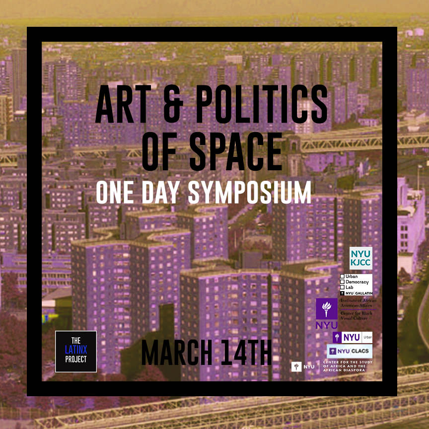 Image from Symposium | Art & The Politics of Space Symposium Program