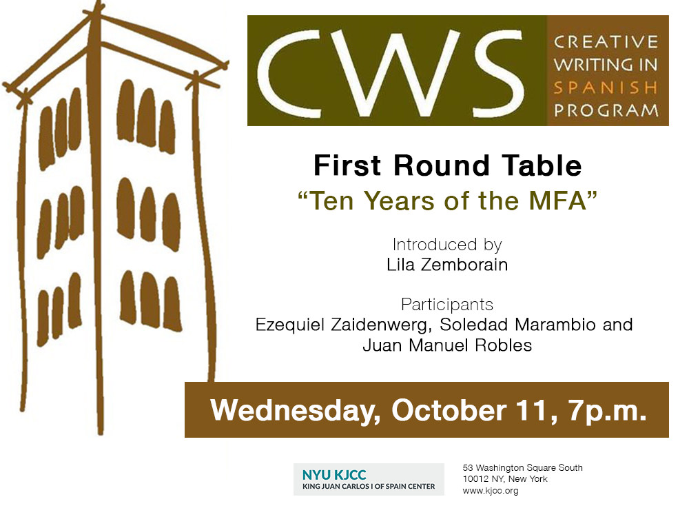 "CWS: First Round Table ""Ten years of the MFA"""